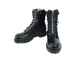 クロムハーツ ブーツ × チペワ ファイヤーマン ブーツ 画像