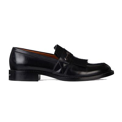 ジバンシィ メンズ 靴 フリンジ付きローファー 画像