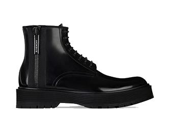 ジバンシィ メンズ 靴 レザーブーツ 画像
