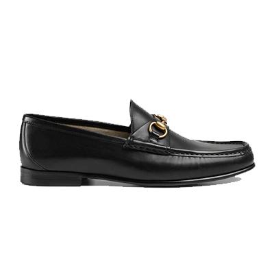 グッチ メンズ 靴 1953 コレクション ホースビットローファー 画像