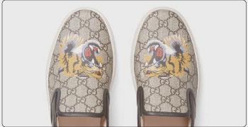 グッチ メンズ 靴 スリッポン 画像