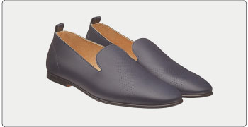 エルメス メンズ 靴 スリッポン 画像