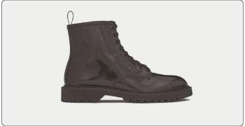 サンローランパリ ブーツ ダービーブーツ 画像
